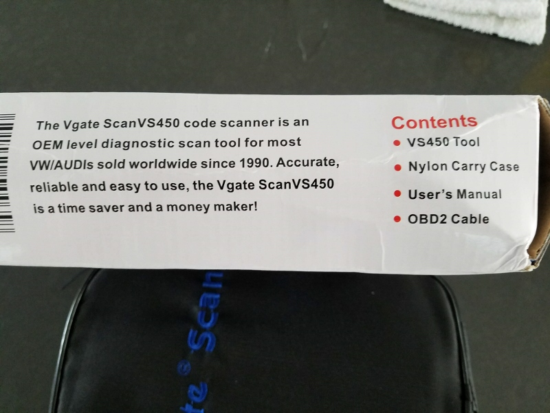 Affordable Tool to Reset Service Light - Vgate VS 450