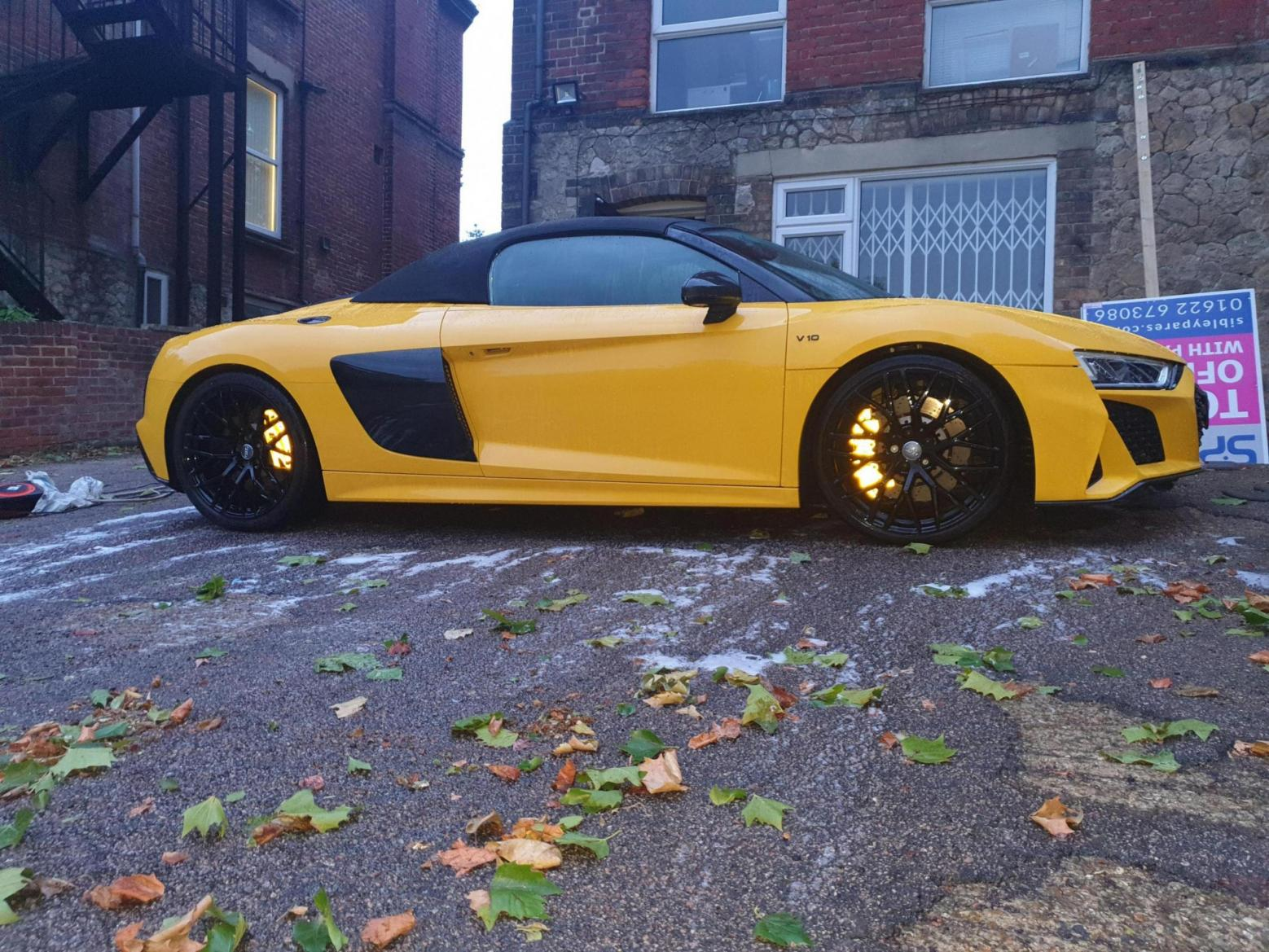 Calipers wrapped in reflective yellow wrap!-20190730_205635_1565951366434.jpg