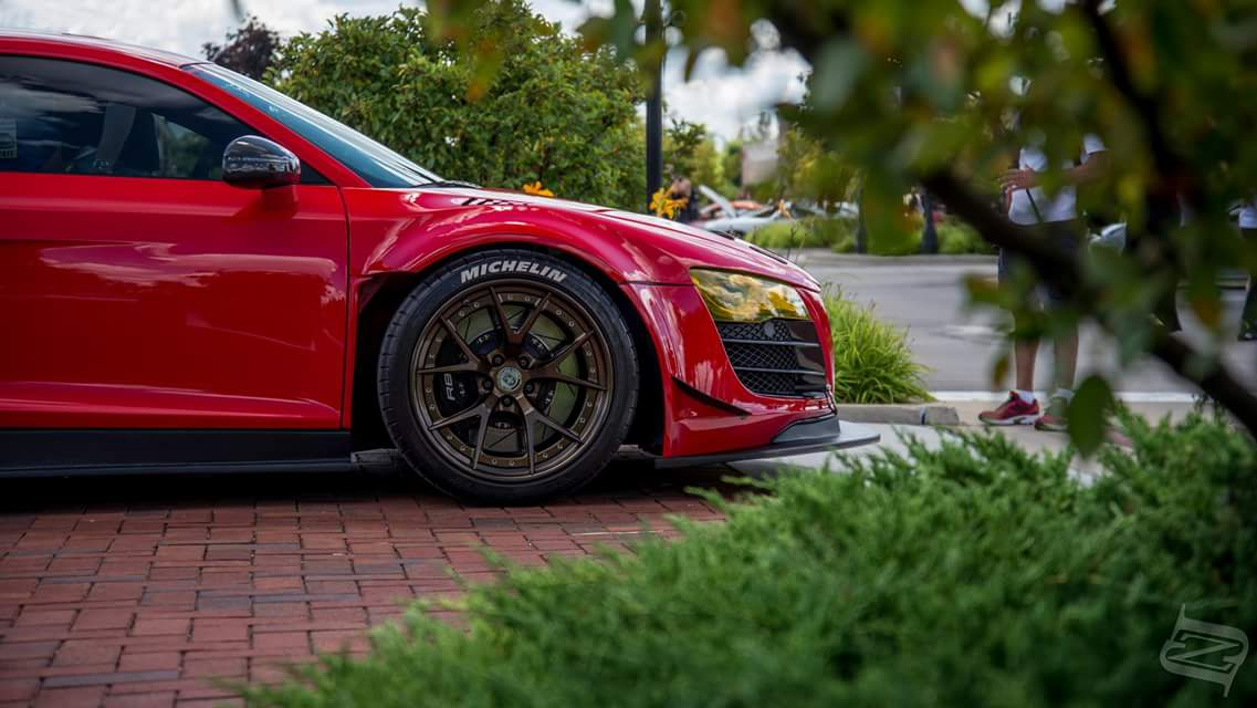 V Twin Turbo TopSpeed Motorsports Widebody R - Audi r8 top speed