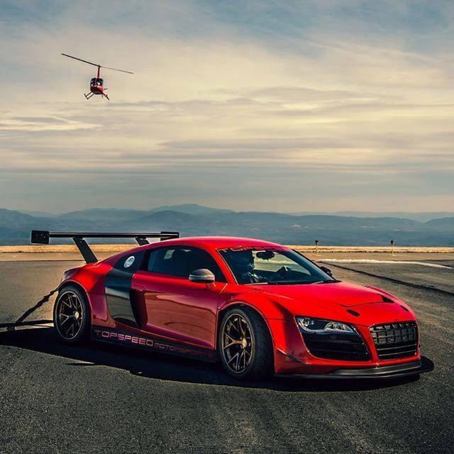 Audi R8 GT3 LMS Conversion Kit By Mcchip-DKR