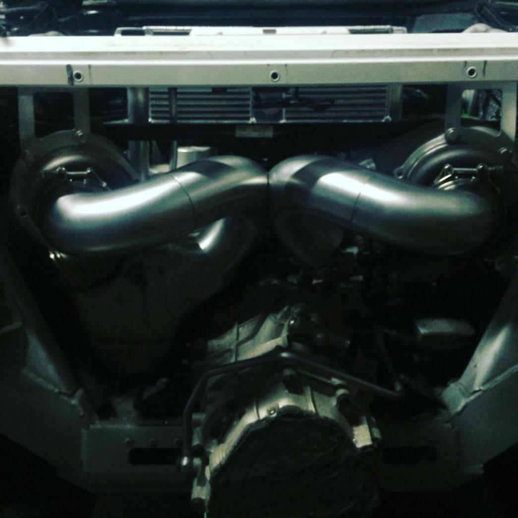 Precision Turbo Jumper: V10 Twin Turbo Build In Progress