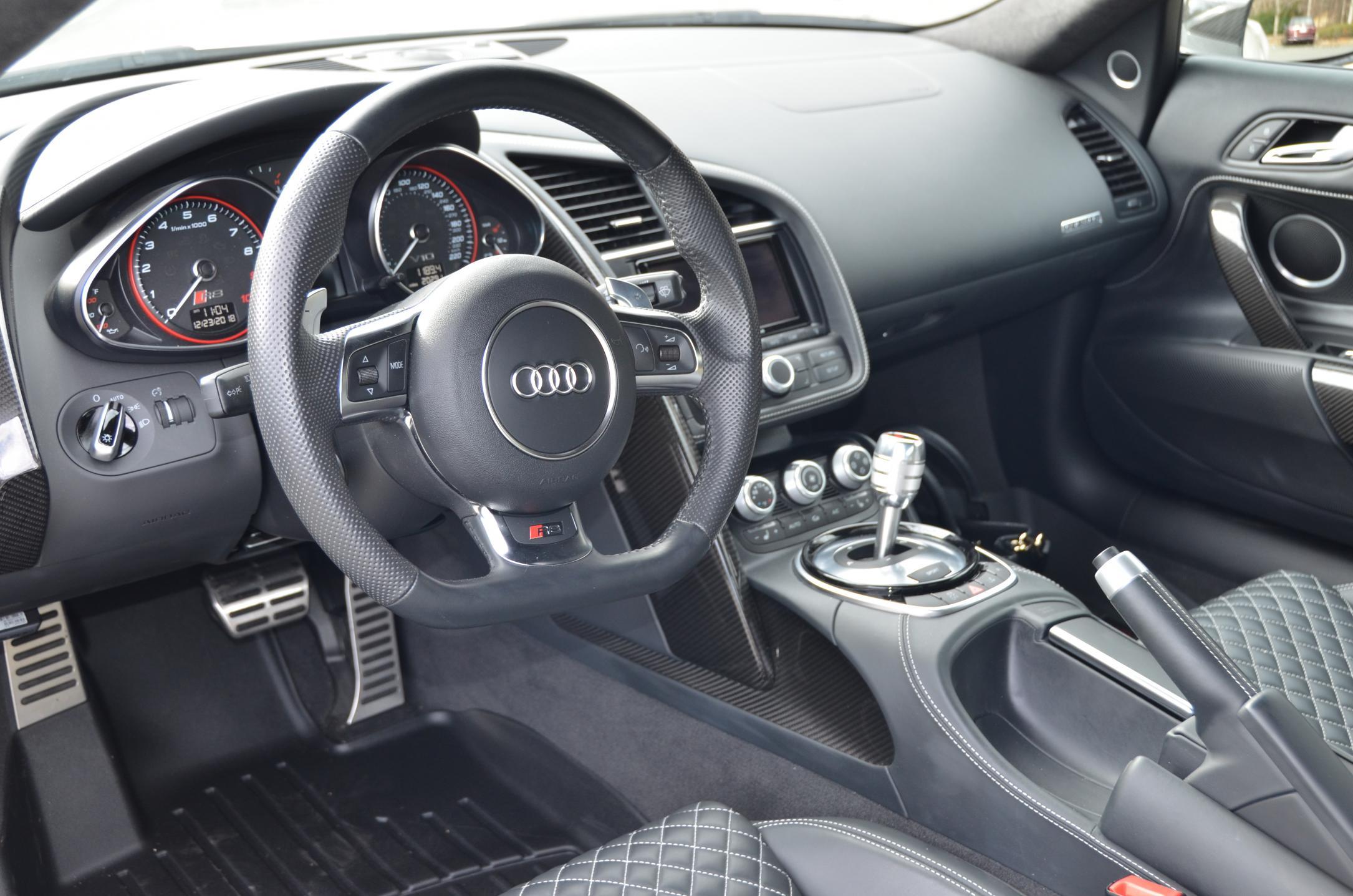 2015 Audi R8 V10+, S-Tronic, Ti exhaust, Fidelity Platinum 4/48