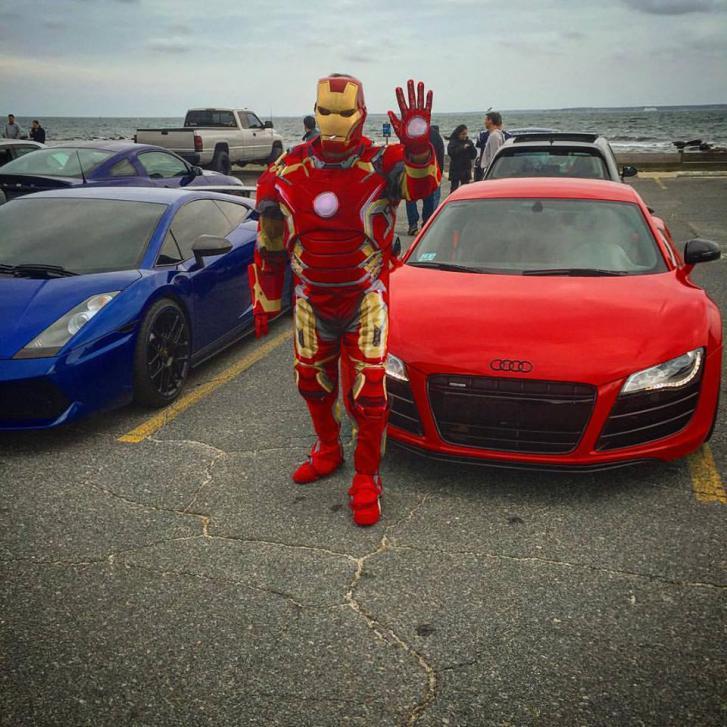 I let Iron Man borrow my car