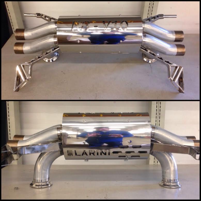 Larini V10 R8: Larini Clubsport Exhaust At Woreks.co