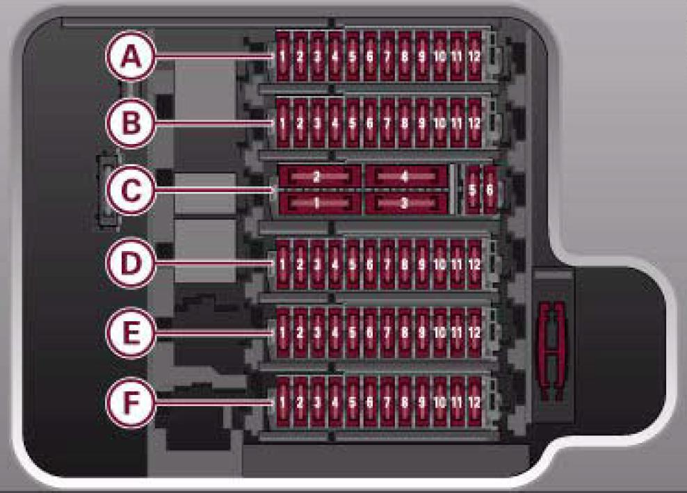 center console not working | Audi R8 Forums | Audi R8 Fuse Box |  | Audi R8 Forums