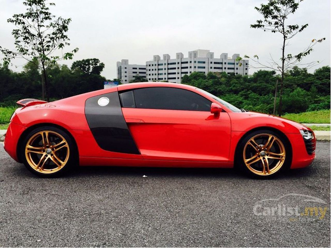 Pic Request Gold Wheels On A Red R8 Audi R8 Forums