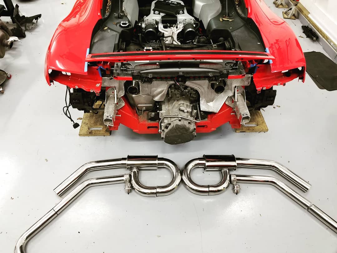 09 V8 Exhaust Build-r8exh2.jpg