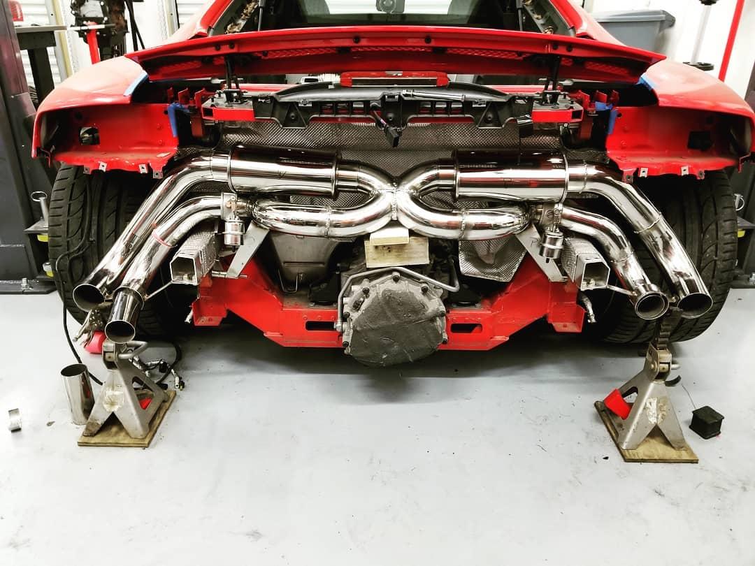 09 V8 Exhaust Build-r8exh5.jpg