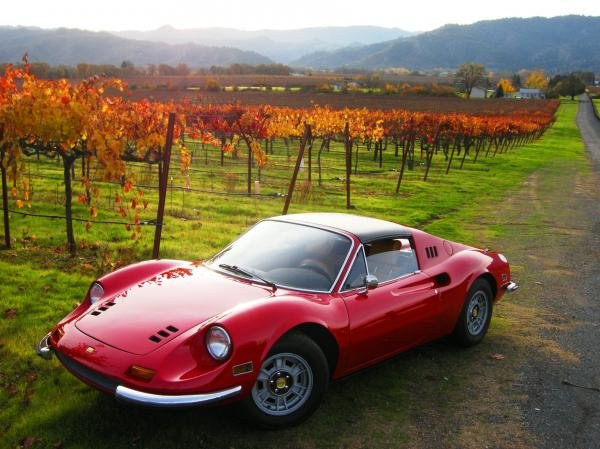 Showcase cover image for 1972 Ferrari 246 GTS Euro version Dino