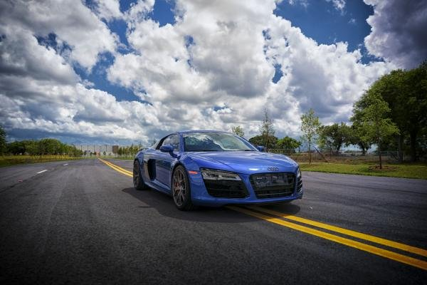 Showcase cover image for 2014 Sepang Blue R8 V10
