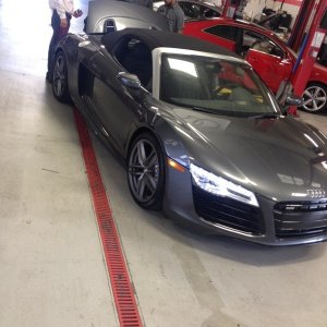 First Pics of My New R8